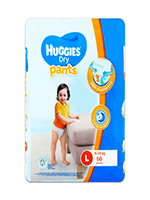 Huggies diaper -L