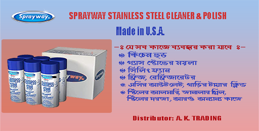 Srayway Stainless Steel Polish - Promo Banner