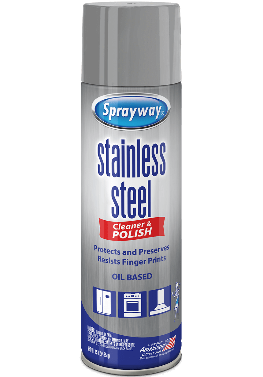 Sprayway-Stainless-Steel Cleaner