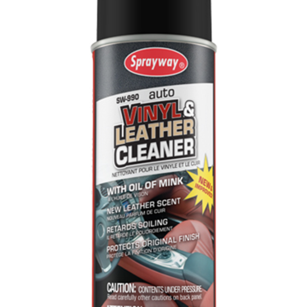 SPRAYWAY LEATHER & VINYL CLEANER