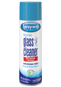 Sprayway glass-cleaner